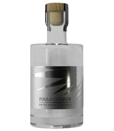 "Poulo Condor Swiss ""Agricole"" Rum 49° 0,5L"